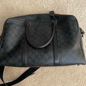 Coach full size briefcase